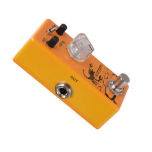 Movall Audio Mini Riot MM-01 Scorpion Distortion Micro FX Pedal True Bypass-2